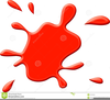 Blood Drops Clipart Image