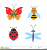 Cute Butterfly Clipart Black And White Image