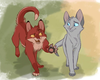 Foxleap And Dovewing Image