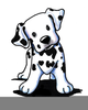 Animated Clipart Dalmation Dog Image