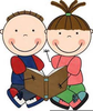 Reading Buddy Clipart Image