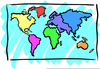 Free Cliparts World Map Image