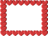 Red Heart Frame Image