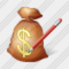 Icon Money Bag Edit Image