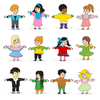 Free Clipart Of Black Children Image