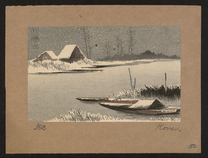 Ferryboats In Snow Image