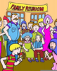 Family Reunions Free Clipart Image