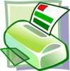 Printer Icon Clip Art