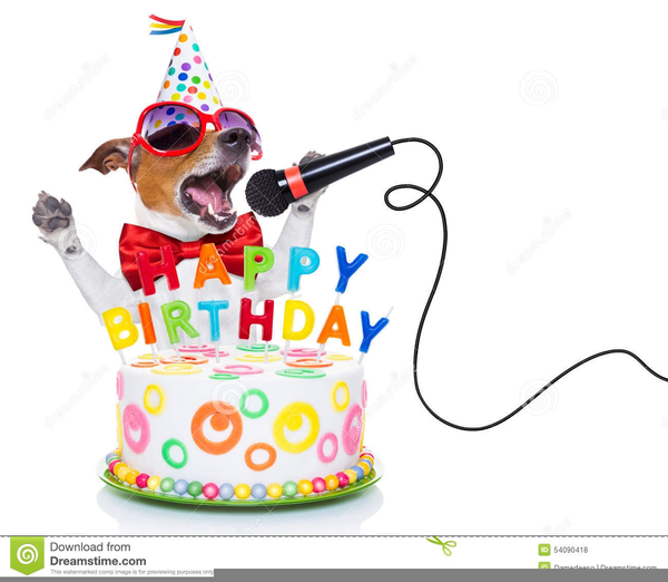 Dog Birthday Cake Clipart Free Images At Clker Com