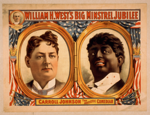 William H West S Big Minstrel Jubilee Free Images At