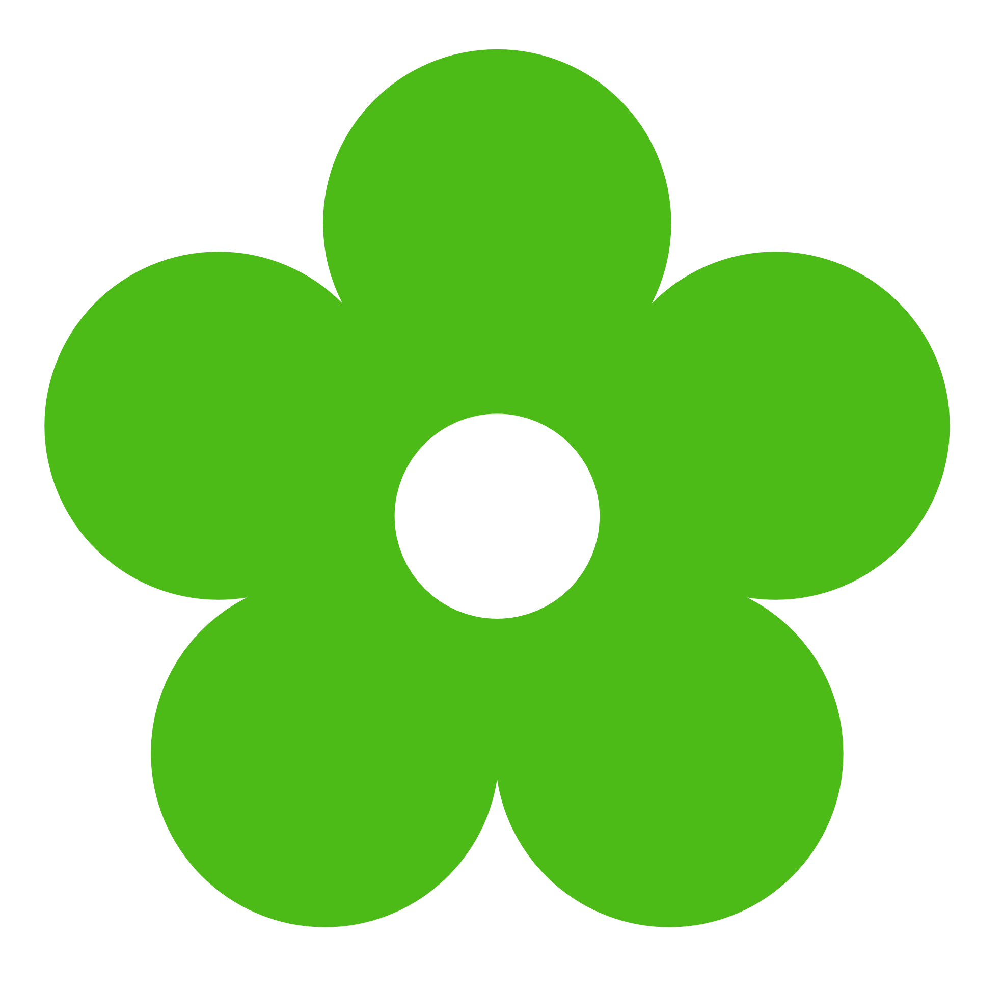free green flower clipart - photo #8