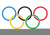 Free Olympics Rings Clipart Image
