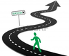 Curvy Road Clipart Image
