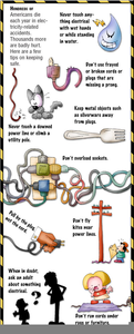 Safety Tips For A Home Day Care Clipart Image