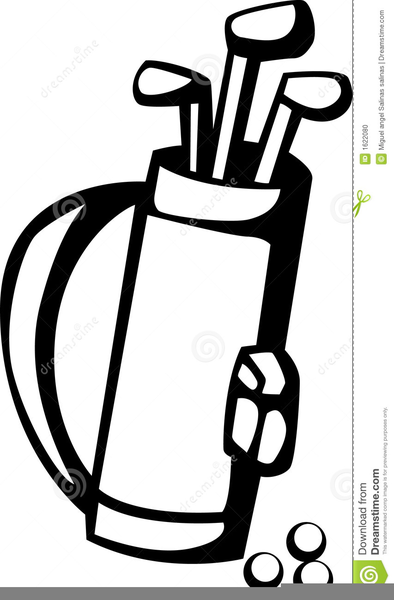 golf bag clipart free images at clker com vector clip art online rh clker com Golf Ball Golf Ball