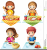 Clipart Of A Dining Table Image