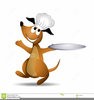 Serving Tray Clipart Image