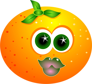Cartoon Orange Image