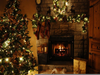 Christmas Fireplace Wallpapers Image