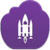 Space Shuttle Icon Image