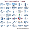 Desktop Device Icons Image