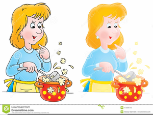 Transparent Woman Cooking Png - Cook Clipart Png , Free Transparent Clipart  - ClipartKey