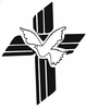 Cross With Dove Image