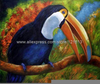 Toucan Oil Paintings Image