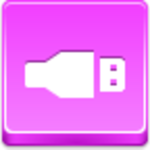 Free Pink Button Usb Image