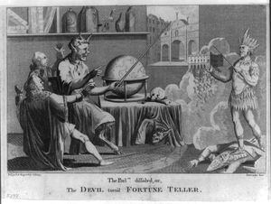 The Parlmt. Dissolved, Or, The Devil Turn D Fortune Teller  / Design D & Engrav D By G. Terry, Paternoster Row. Image