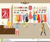 Free Clipart Clothes Shopping Image