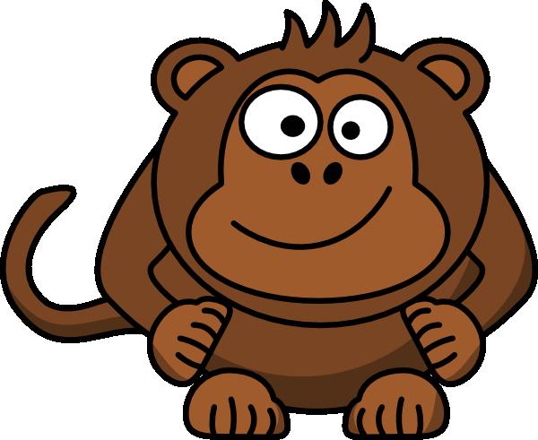 Baby Monkey Clip Art at Clker.com - vector clip art online ...