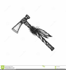 Indian Tomahawk Vector Image