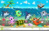 Free Animated Sea Life Clipart Image