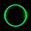 Dark Green Circle Image