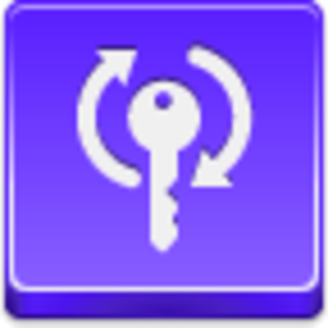 Free Violet Button Refresh Key Image