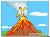 Animated Clipart Or Volcanoes Image