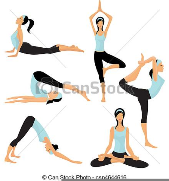 Free Clipart Yoga Poses Free Images At Clker Com Vector Clip Art Online Royalty Free Public Domain