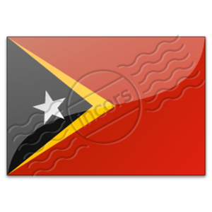 Flag East Timor Image