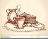 Clipart Coffee And Cake Image