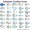 Database Toolbar Icons Image