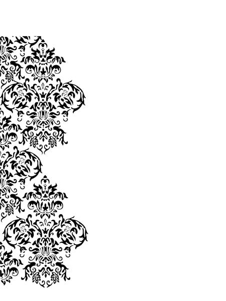 damask swirl