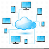 Clipart Network Cloud Computing Image
