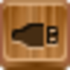 Free Wood Button Usb Image