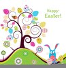 Free Easter Card Clipart Image