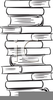 Book Stacks Clipart Image