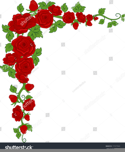 rose corner border clipart free images at clker com vector clip rh clker com yellow rose border clip art free rose vine border clip art