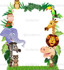 Free Cartoon Jungle Animal Clipart Image