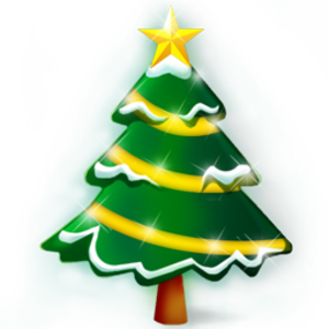 Christmas Tree Icon Image