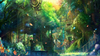 Anime Forest Town Image